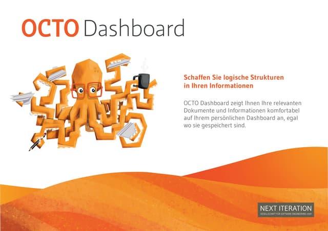 Octo Dashboard Produktbroschüre