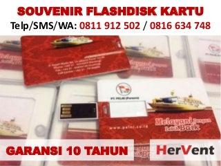 SOUVENIR FLASHDISK KARTU - Telp/WA: 0811912502