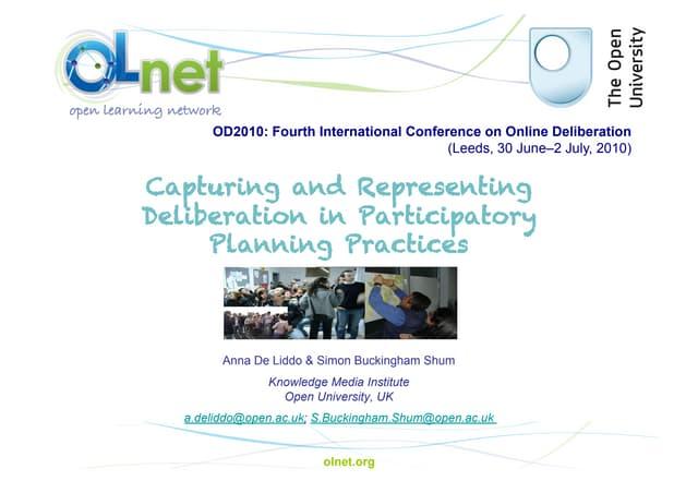 OD2010- DeLiddo Presentation