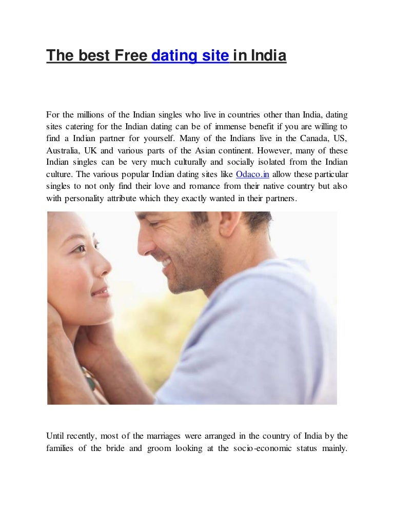 best free dating sites for india
