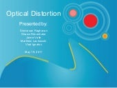 Optical Distortion Marketing Plan