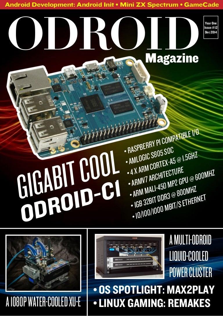 Odroid Magazine December 2014 Fatal Error Wiringpi H
