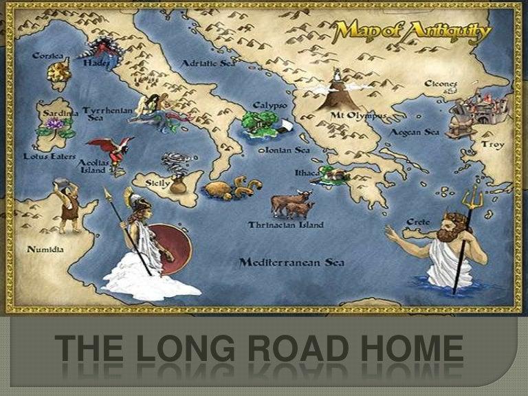 Odysseus S Journey