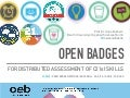 Distributed Assessment with Open Badges