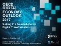 OECD Digital Economy Outlook 2017: Setting the foundations for the digital transformation
