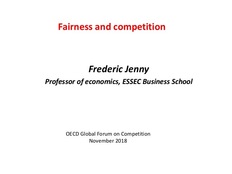 How can competition contribute to fairer societies? – JENNY
