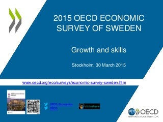 OECD-main-findings-Sweden-2015-growth-and-skills