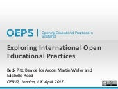 Exploring International Open Educational Practices