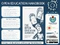 Open Education Handbook poster for OER15