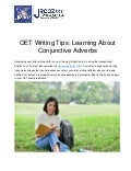 OET Writing Tips: Learning About Conjunctive Adverbs