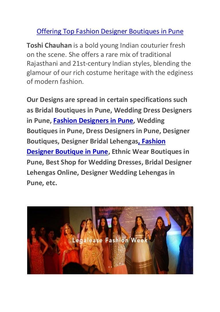 cd5e2a500ceb Best Wedding Dress Shop In Pune - PostParc