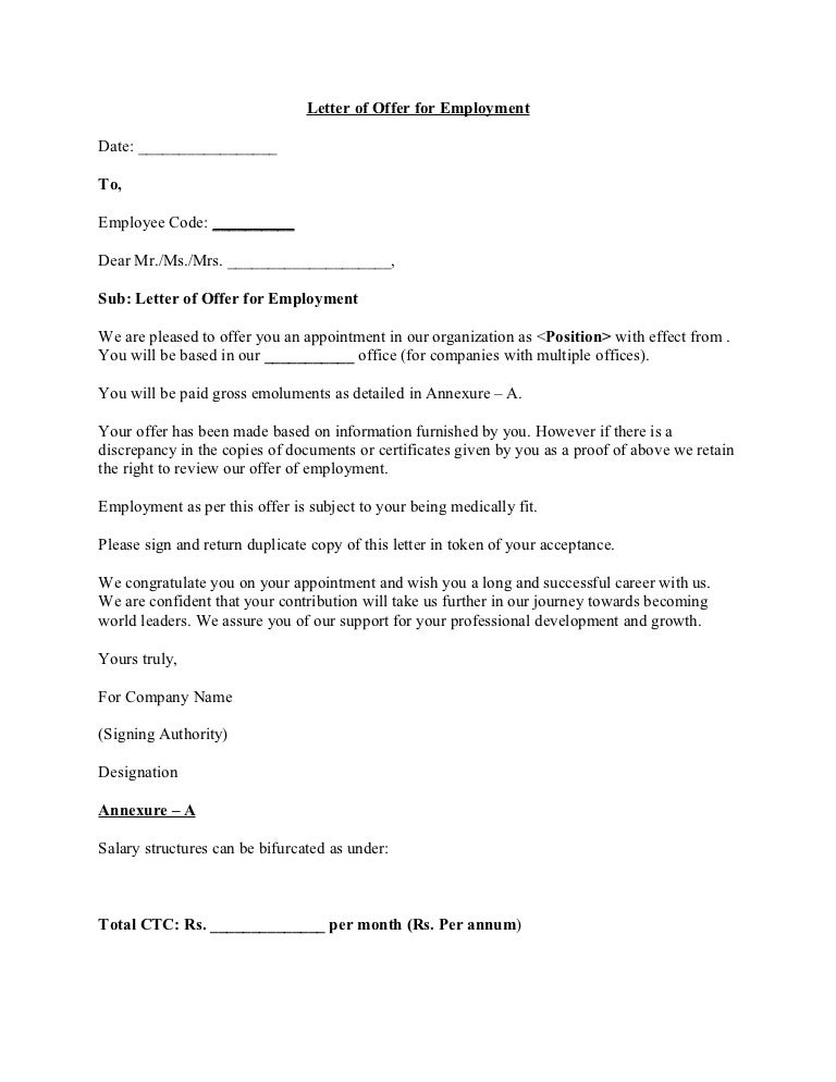 offer letter templates - Kardas.klmphotography.co