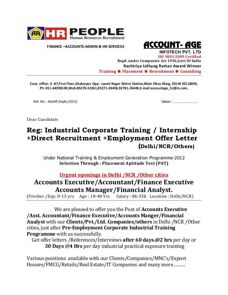Offer Letter Finance Final