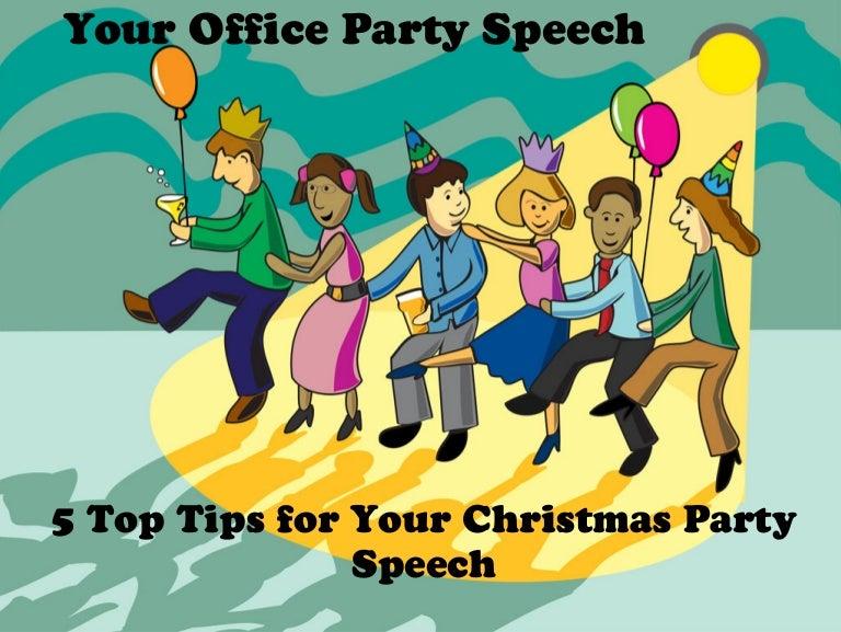Amazing Christmas Party Speeches Part - 13: SlideShare