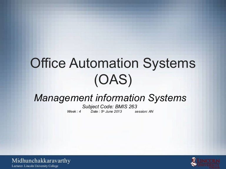 Office Automation Pdf