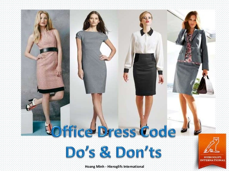 Office Dress Code Do S And Don Ts