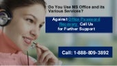 How 1-888-809-3892 Assist In The Recovery of Office Password?