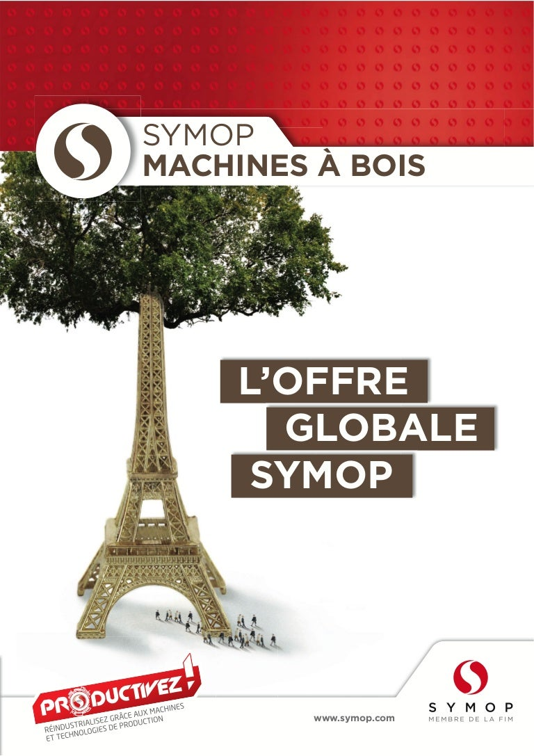 Offre En France Symop Machines Bois Expobois 2014