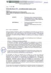 Oficio múltiple 084 2016 diten_precisiones de contancia domiciliaria para reasignacion