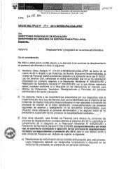 Oficio multiple n° 070 2014-minedu-sg-oga-uper