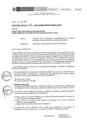 Oficio multiple n° 082 2016-minedu-diten