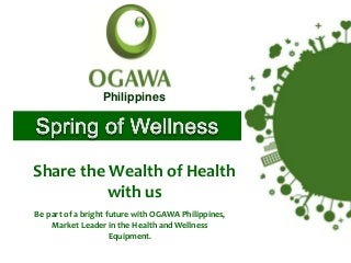 Ogawa products and its features