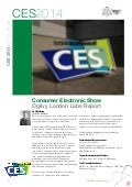 Consumer Electronic Show  2014 Ogilvy London Labs Report