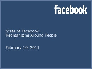 Facebook State of The Union