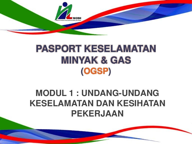 Pasport Keselamatan Minyak Gas Ogsp