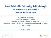 Iowa TelePrEP: Delivering PrEP through Telemedicine and Public Health Partnerships