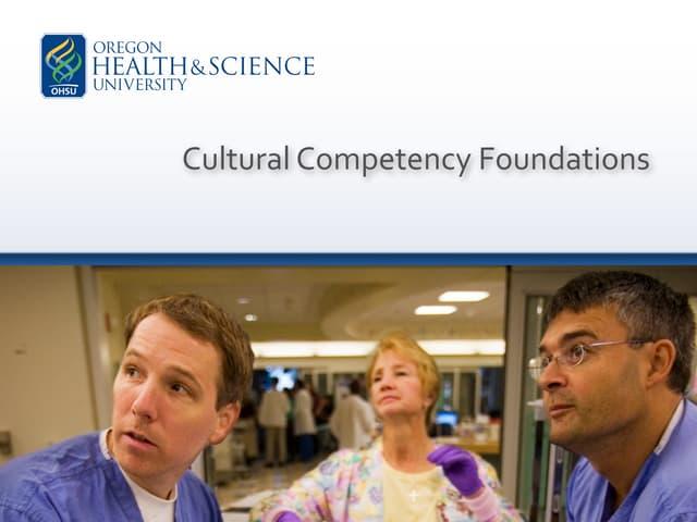 OHSU - Cultural Competencies Foundation Course (2008)