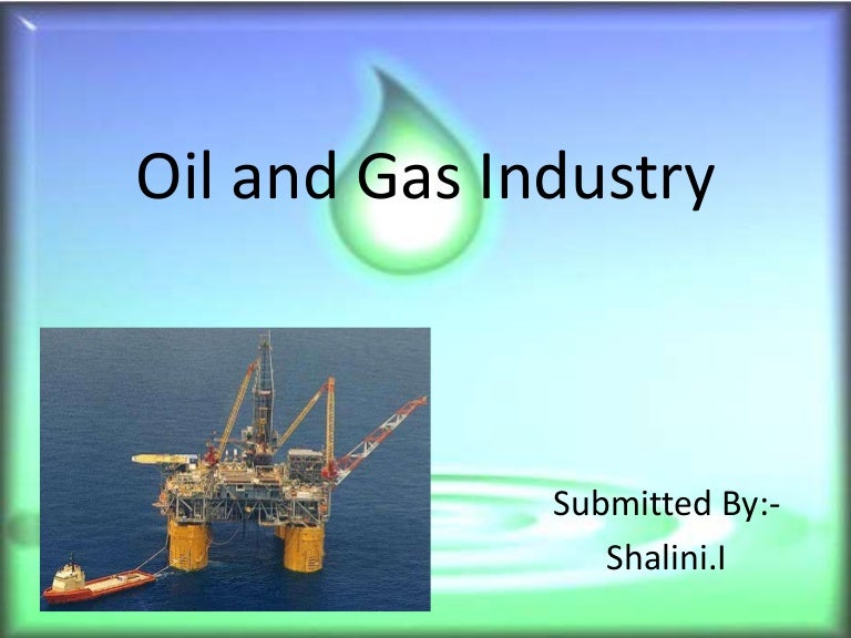 oil and gas industry analysis pdf