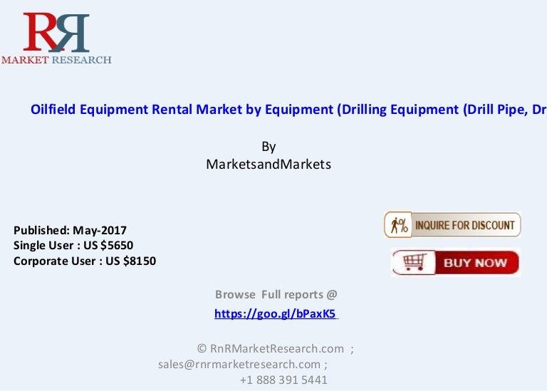 Oilfield Equipment Rental Market Size – Industry Trends