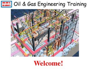 Oil & gas engineering training
