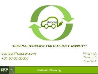 Rental car business plan