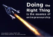 14 Tips to Entrepreneurs to start the Right Stuff