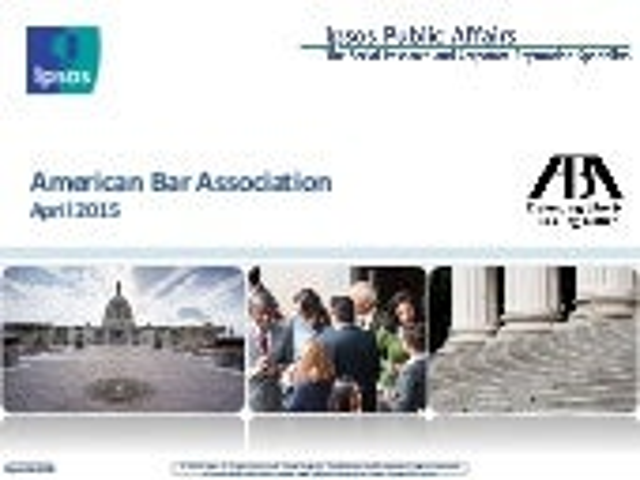 ABA Ipsos Polling 4.6.15