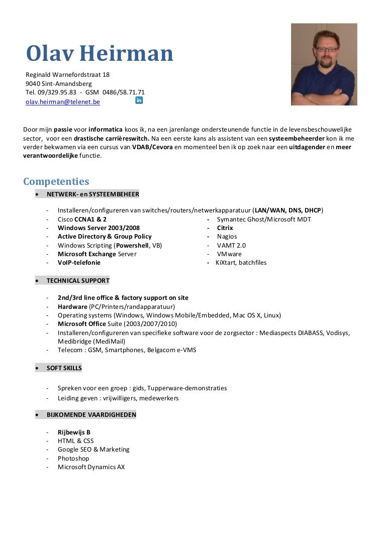 Microsoft Active Directory Resume Perfect Objectives Best Resume