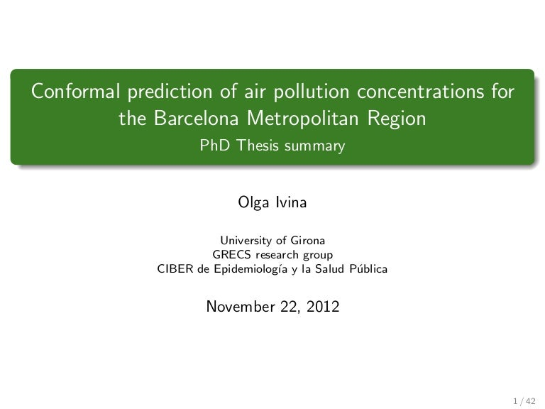 Olga Ivina PhD Thesis Presentation Short