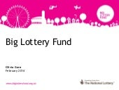 Update from Big Lottery Fund