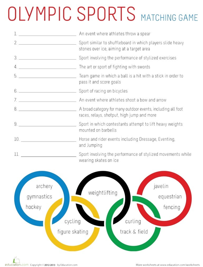 Olympic sports-worksheet (2)-1-site(2)