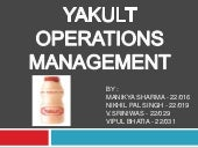 Yakult Probiotic Drink Side Effects