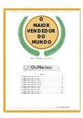 """Os Dez Pergaminhos - texto extraído do livro """"O maior vendedor do mundo"""" (og mandino)"""