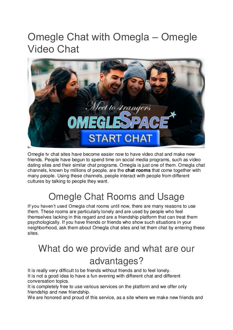 Chat topics omegle How to