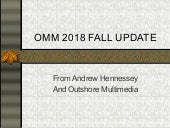 Omm 2018 fall update