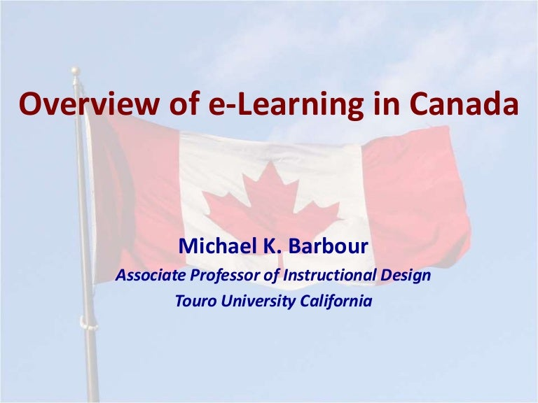 On Moe 2019 Overview Of E Learning In Canada