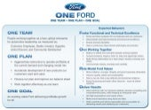 One Ford Strategy