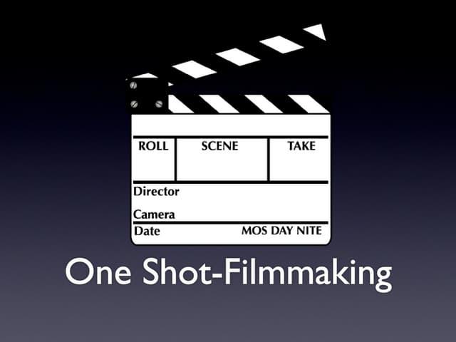 One Shot Short Introduction