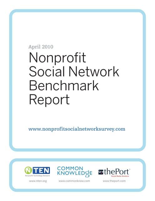 Estudio sobre ONG y redes sociales