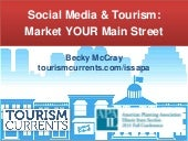 Social Media & Tourism: Market YOUR Main Street
